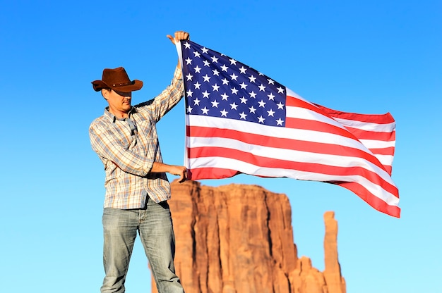 Out west - een cowboy heeft tijd nodig om uit te rusten en na te denken.