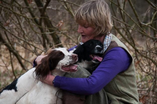Outdoor lachende hond retriver patrijs canin