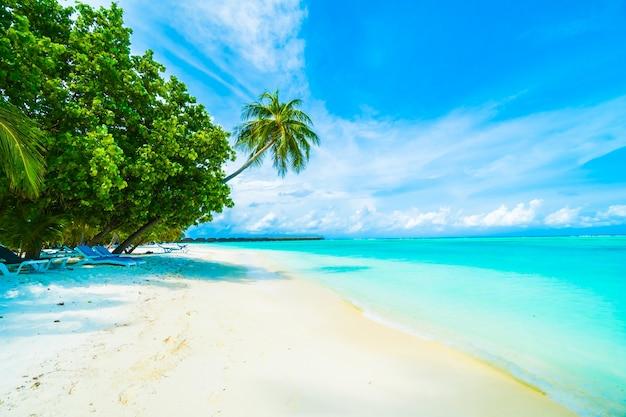 Outdoor maldive reis hemel natuur