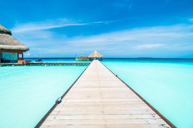 Outdoor maldiven exotisch eiland blauw