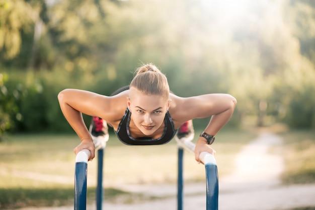 Outdoor training oefening