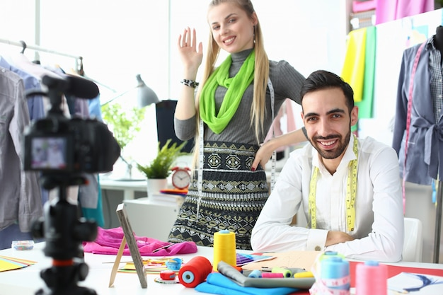 Outfitontwerp creëren van modeblogging