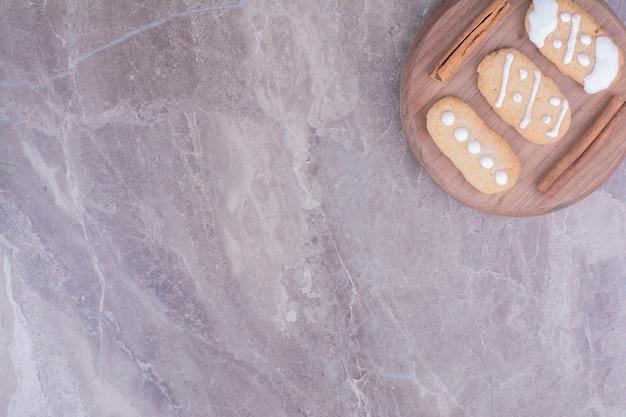 Ovale peperkoekkoekjes met kaneelsmaak