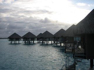 Overwater bungalos