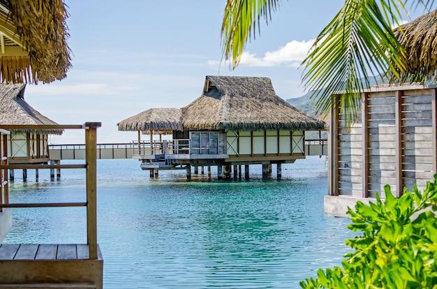 Overwaterbungalows, frans-polynesië