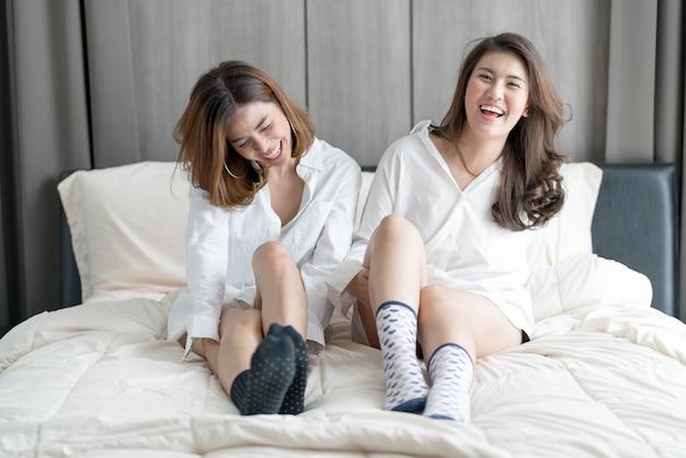 Paar aziatische vrouw
