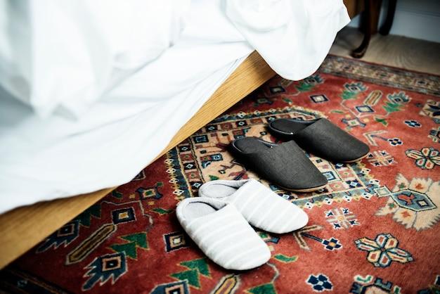 Paar slippers