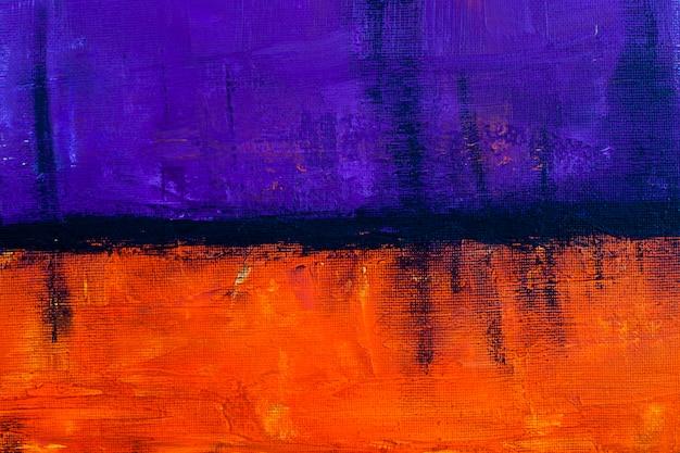Paars en oranje grunge gekleurde textuur.