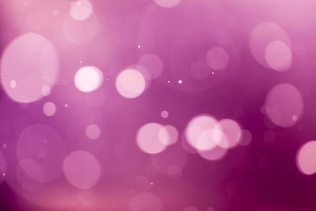 Paarse lichten bokeh achtergrond.