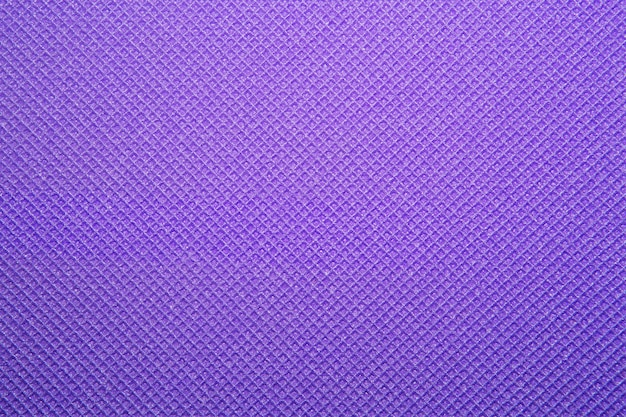 Paarse yoga mat textuur