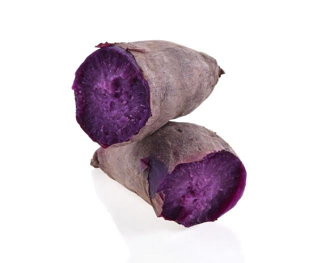 Paarse zoete aardappelen