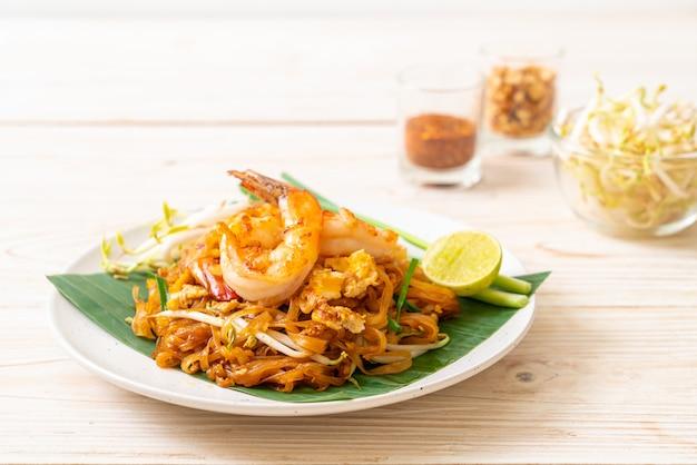 Pad thai gewokte rijstnoedels
