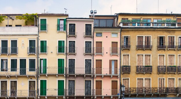 Padova, huizen