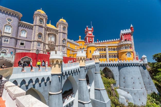 Palacio da pena - sintra, lissabon, portugal, europa.