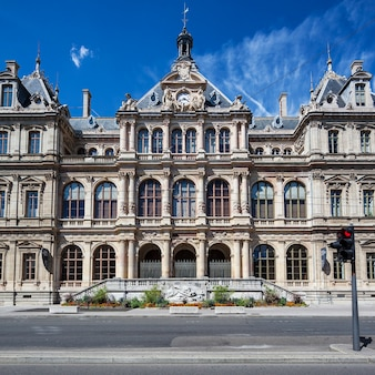 Palais de la bourse, lyon, frankrijk