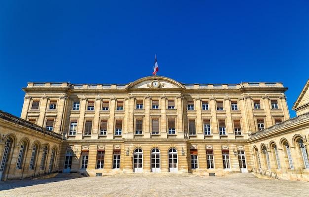 Palais rohan, het stadhuis van bordeaux - frankrijk, aquitaine