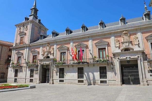 Paleis van casa de la villa de madrid