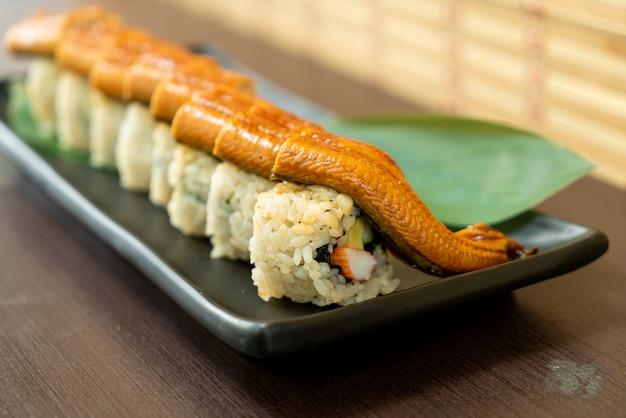 Paling sushi roll - japans eten