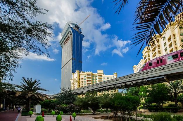 Palm island-appartementen, ittehad-park en monorail, palm jumeirah