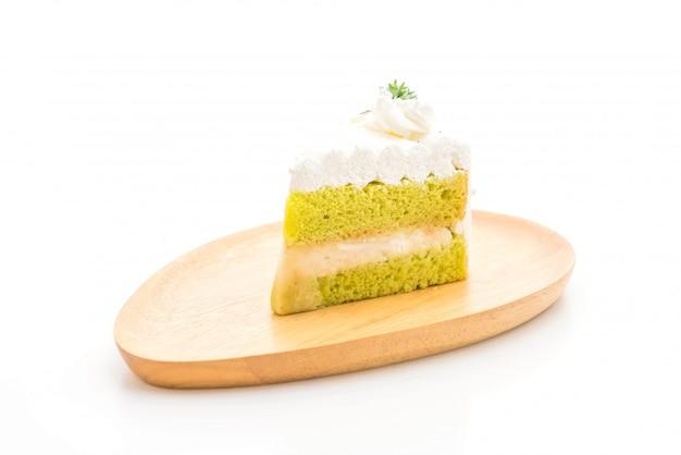 Panda's cake geïsoleerd