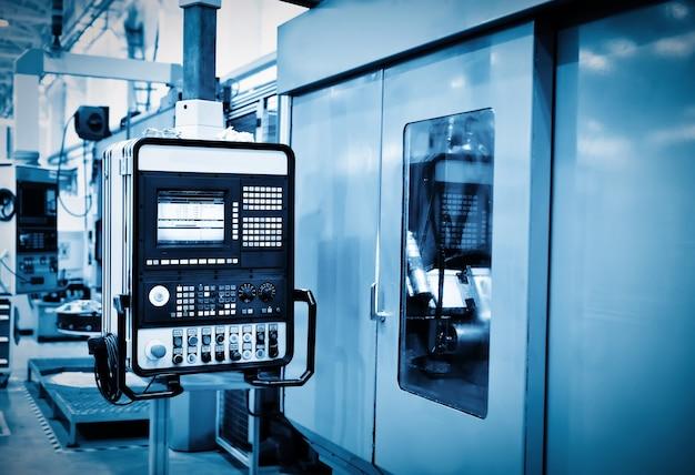 Paneel van een cnc-machine