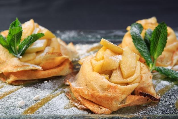 Pannenkoeken met appels
