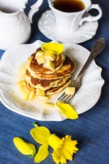 Pannenkoeken met honing