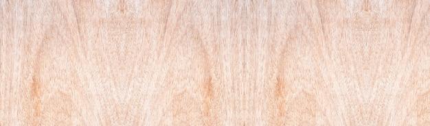 Panorama houten muur met mooie vintage bruine houten textuurachtergrond