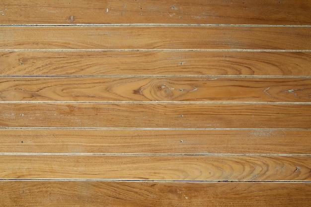 Panorama van bruine uitstekende houten muur