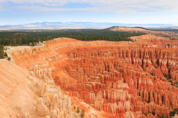 Panorama van bryce canyon national park, verenigde staten.