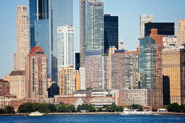 Panorama van de stad new york
