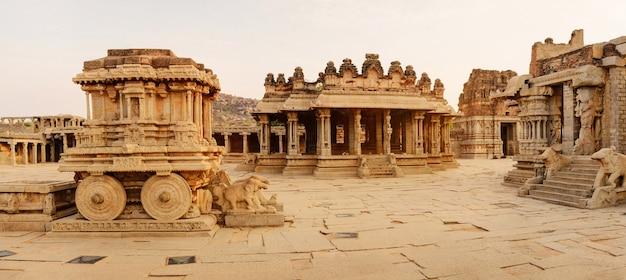 Panorama van de vittala-tempel