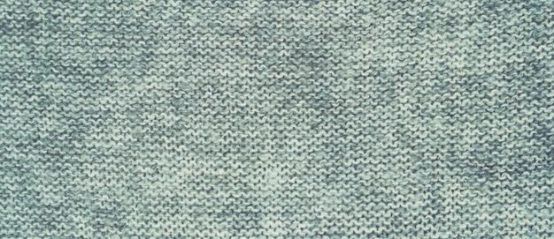 Panorama van grijze stoffenachtergrond en textuur met exemplaarruimte