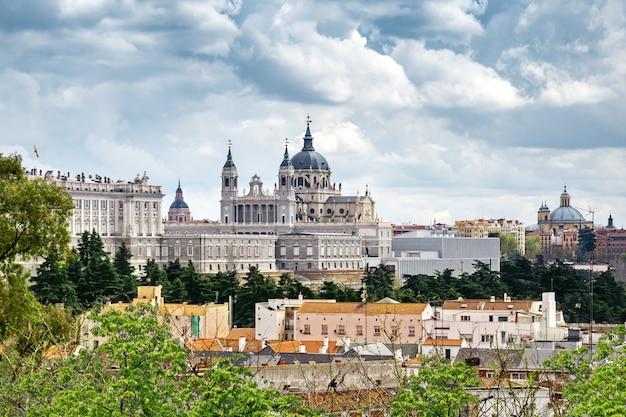 Panorama van madrid