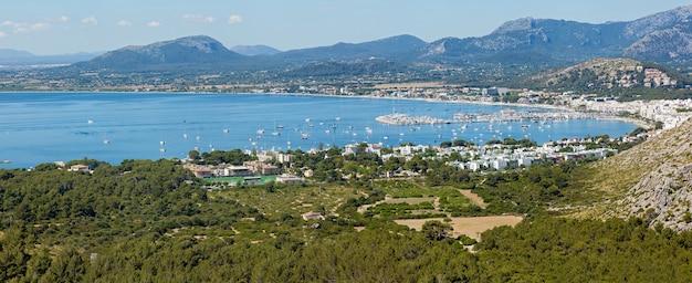 Panorama van palma de mallorca panorama van palma de mayor met een prachtig uitzicht vanaf