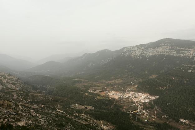 Panoramisch uitzicht op de natuur