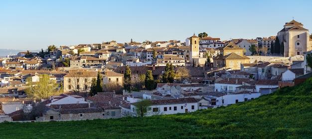 Panoramisch van de oude middeleeuwse stad