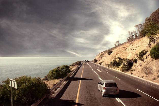 Panoramische straat van kaapstad