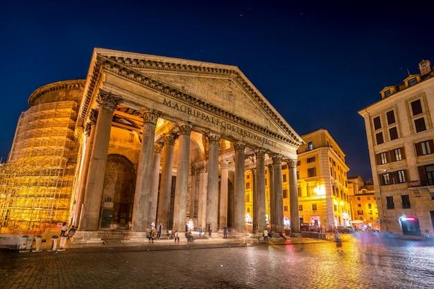 Pantheon in rome, italië
