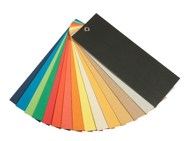 Pantone kleurenschema