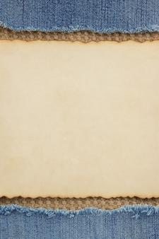 Papier en jute jute plundering
