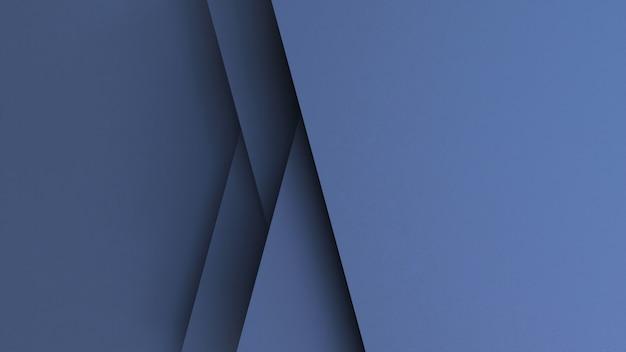 Papier gesneden abstracte achtergrond Premium Foto