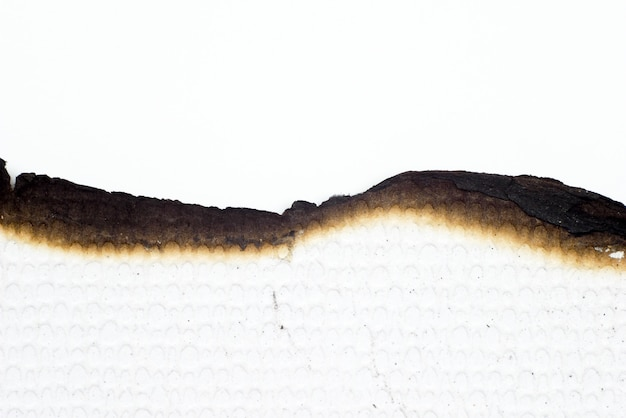 Papier verbrand oude grunge abstracte textuur