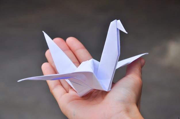 Papieren kraanvogels