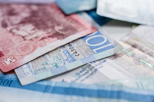 Papiergeld achtergrond van de verschillende landen