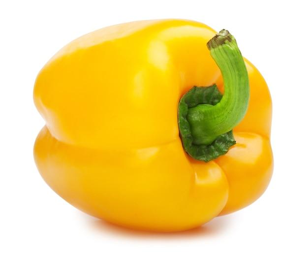 Paprika geïsoleerd op een witte achtergrond