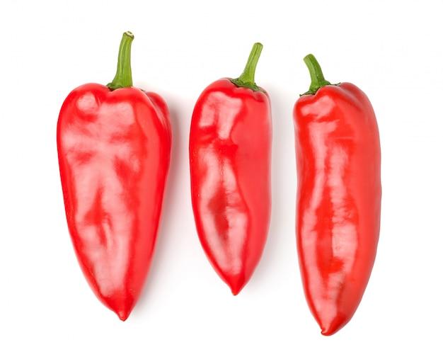 Paprika geïsoleerd