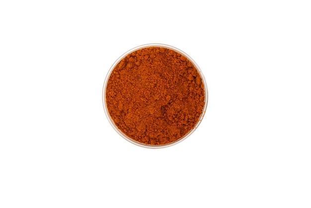 Paprika in een kom