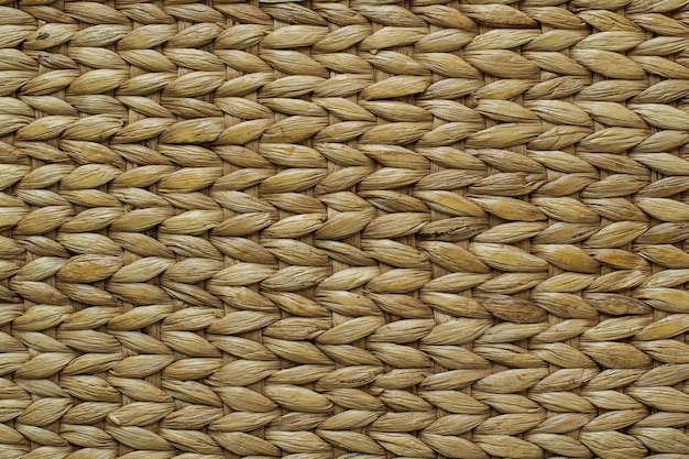 Papyrus rotan weefsel textuur van handgemaakte hoge resolutie achtergrond