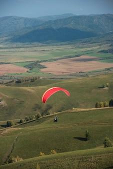 Paragliding in bergen